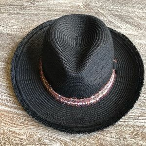Nordstrom Bought Black Straw Hat